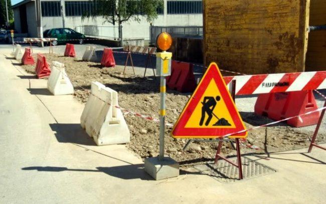 Al via i lavori in via Cavallotti a Legnano