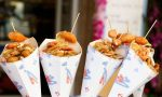 Street food in piazza Volta a Turate