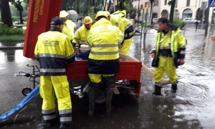 """La """"bomba d'acqua"""" colpisce anche Castellanza FOTO"""