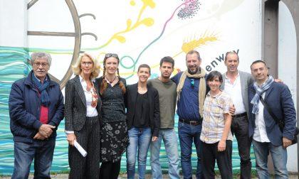 S.Vittore, il murales fa rivivere l'ex Visconti LE FOTO