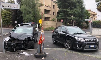 Incidente all'incrocio, Panda distrutta