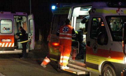 Caduta da moto, soccorsi due ragazzini di 15 e 16 anni SIRENE DI NOTTE