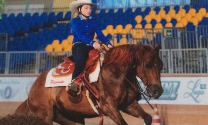 """Elisa Maggiore, 13 anni, è la migliore """"Cowgirl"""" d'Italia"""