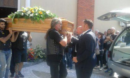 Rombo di motori per l'ultimo saluto a Franco Latino FOTO E VIDEO