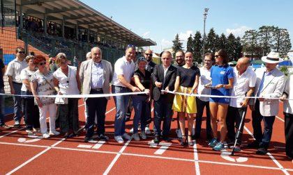 Inaugurata la pista di atletica dello stadio di Saronno