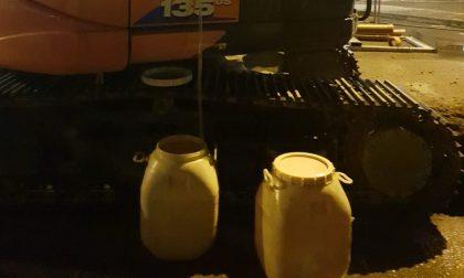 Gornate Olona, in Comune un contenitore per l'olio esausto