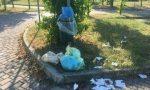 Degrado nei cestini del cimitero cerrese, interviene Airoldi FOTO