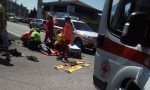Incidente auto-moto a Castiglione, uno è grave