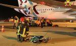 Esercitazione presso l'aeroporto intercontinentale di Malpensa FOTO e VIDEO
