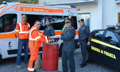 Carburante confiscato e devoluto a scopo benefico