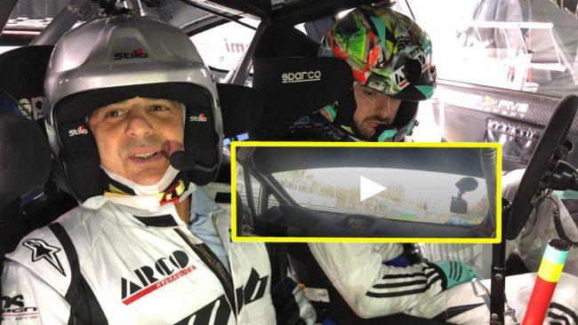 Sali con noi sul bolide del campione Marco Bonanomi VIDEO   Monza Rally show 2018