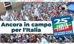 25 anni di Forza Italia: azzurri in piazza