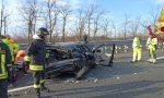 Incidente stradale sull'A8, cinque veicoli coinvolti FOTO