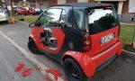 Auto vandalizzate a Gorla Minore
