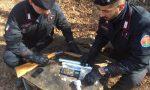 Droga nei boschi: tre clandestini arrestati