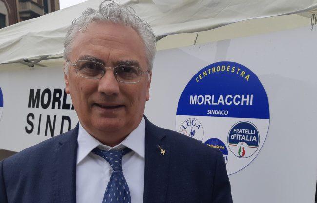 Elezioni San Vittore, Roberto Morlacchi in piazza per Lega, FdI e Lombardia Ideale FOTO e VIDEO