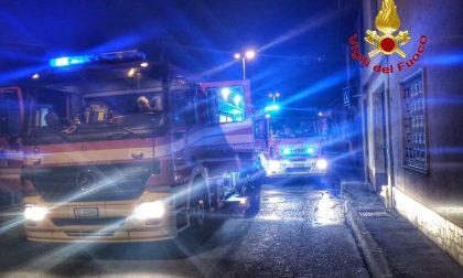 Esplosione a Crosio della Valle, quasi falso allarme: era un incendio
