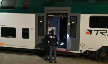 Rissa in stazione a Gallarate, dieci minori denunciati