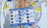 Inveruno, vandalizzati i manifesti del centrodestra