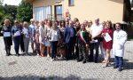 Parabiago, una delegazione di medici russi in visita all'Albergo del Nonno