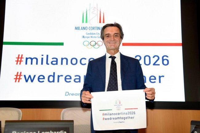 Per le Olimpiadi 2026 serve l'aiuto dei social