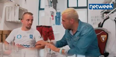 Insultato perchè somiglia a Ribery dai leoni da tastiera, lui sfida tutti a calcio con gli Insuperabili