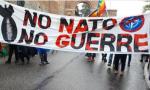No alla guerra, presidio alla base Nato di Solbiate