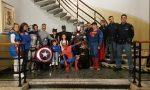 """Supereroi in Questura a Varese: """"Grazie per il vostro lavoro"""" VIDEO"""