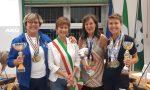 Campionesse sportive di San Vittore Olona premiate dal sindaco FOTO