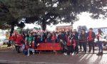 Flash mob e panchine rosse contro la violenza sulle donne – FOTO