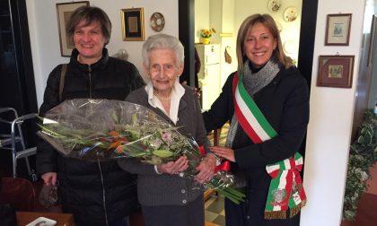 Super compleanno per la centenaria Virginia Fagnani