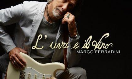 """Marco Ferradini in Frera con il suo nuovo album, """"L'uva e il vino"""""""