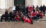 Babbo Natale in Harley… regala 150 panettoni