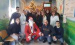 Sorpresa in Pediatria a Tradate col Babbo Natale della Lega Giovani