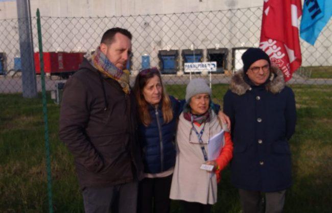 Panalpina, sciopero contro i licenziamenti FOTO