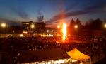 Falò di Tradate, in migliaia in piazza mercato FOTO