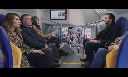 """Spot Trenord con Pozzetto: """"Il treno è sempre il treno"""""""