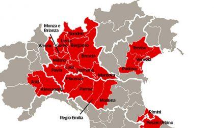 Zona Rossa, i sindaci scrivono al premier Conte