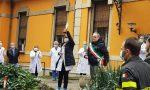 Ciocchina all'ospedale di Saronno col grazie della città