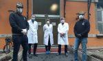 Alpini Saronno donano tute all'ospedale