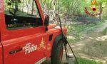 Incendio a Pianbosco, lotta contro il vento