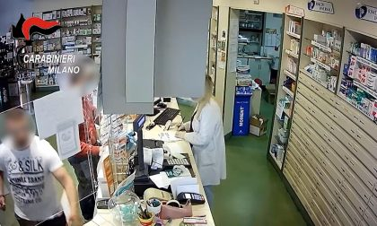 Rapina in farmacia a Solaro armato di chiave a bussola, arrestato VIDEO