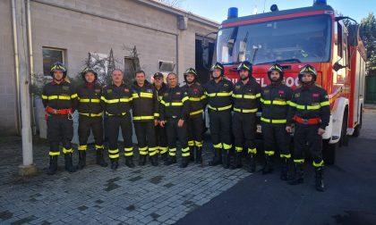 Vigili del fuoco volontari, primo anno di super lavoro: più di 300 interventi