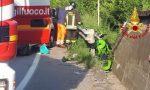Esce fuori strada con la moto, muore a 32 anni motociclista di Caronno Pertusella