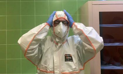 Immagini e suoni dal fronte del coronavirus all'ospedale di Sondalo VIDEO