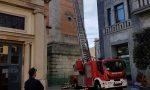 I carabinieri salvano due gheppi intrappolati nel campanile