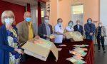 Lions Club Olgiate Olona: donate  mascherine colorate ai bambini delle scuole