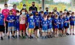 Visita a sorpresa di Zanetti al camp estivo di Lomazzo