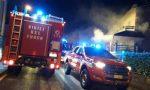 Incendio in una casa a Solaro, fiamme spente solo a tarda notte