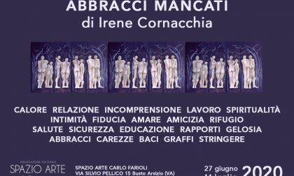 """Gli """"Abbracci Mancanti"""" di Irene Cornacchia in esposizione allo Spazio Ferioli coi Doni della Quarantena"""